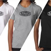 Olympus vintage logo women's t-shirt at Vintage Camera Lab