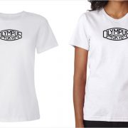 Olympus vintage logo women's white t-shirt at Vintage Camera Lab