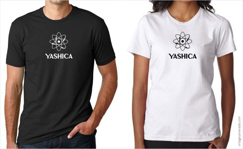 Yashica vintage logo t-shirt at Vintage Camera Lab