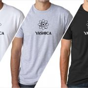 Yashica vintage logo men's t-shirt at Vintage Camera Lab