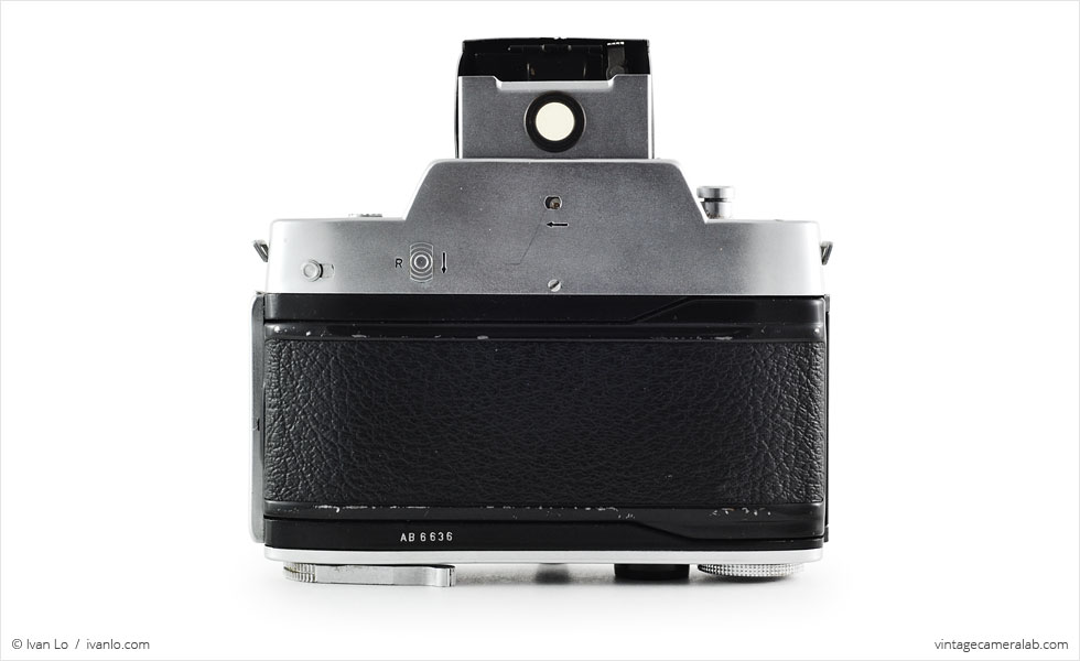 Agfa Flexilette (rear view, viewfinder open)