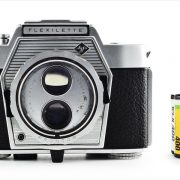 Agfa Flexilette (with 35mm cassette for scale)