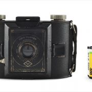 Agfa PD16 Clipper (with 35mm cassette for scale)