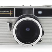 Ansco Anscomark M (front view with Ansco Xyton 35mm f/3.5)