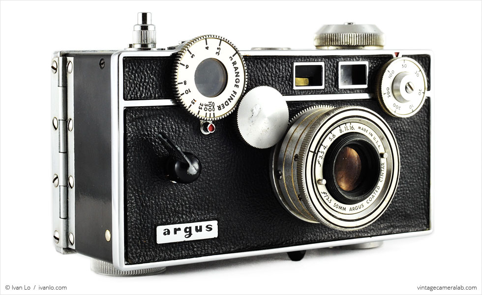 argus c3 vintage camera lab. Black Bedroom Furniture Sets. Home Design Ideas