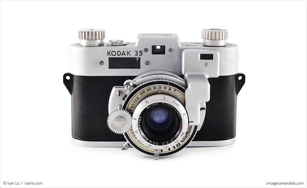 Kodak 35 RF (front view)