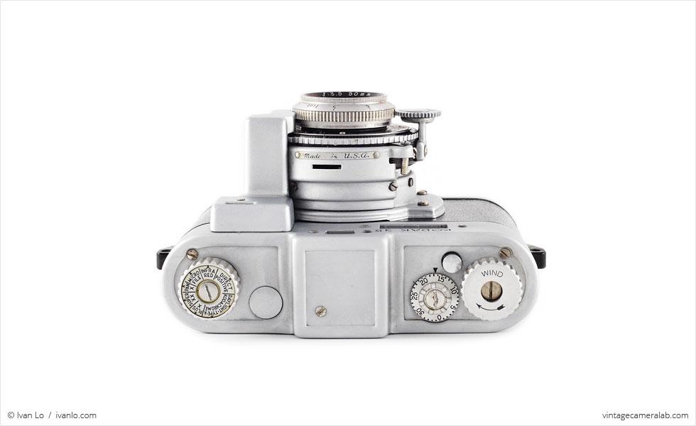 Kodak 35 RF (top view)
