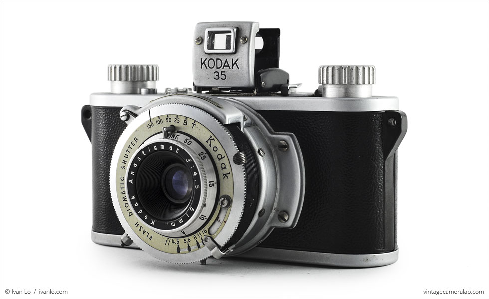 Kodak 35 Three Quarters