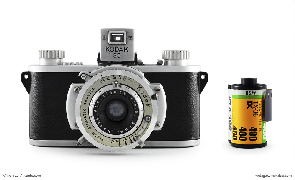 Kodak 35 (with 35mm cassette for scale)
