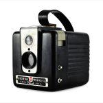 Kodak Brownie Hawkeye (three quarters)