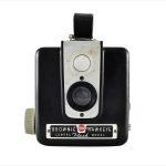 Kodak Brownie Hawkeye (front view)