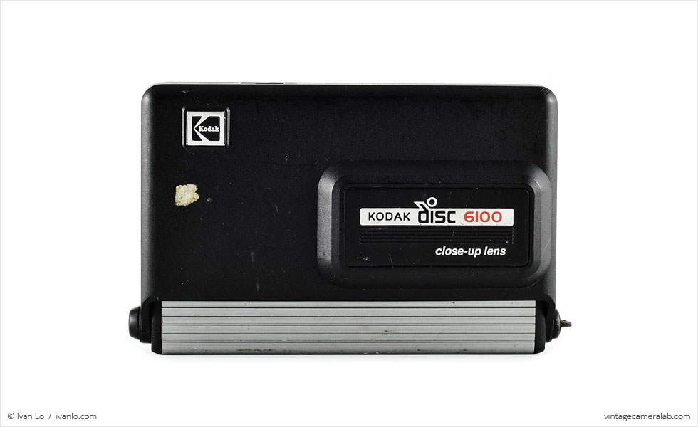 Kodak Disc 6100 (front view, closed)