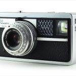 Kodak Instamatic 500 (three quarters, lens extended)