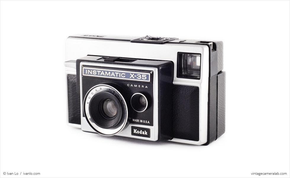 Kodak Instamatic X-35 (three quarters)