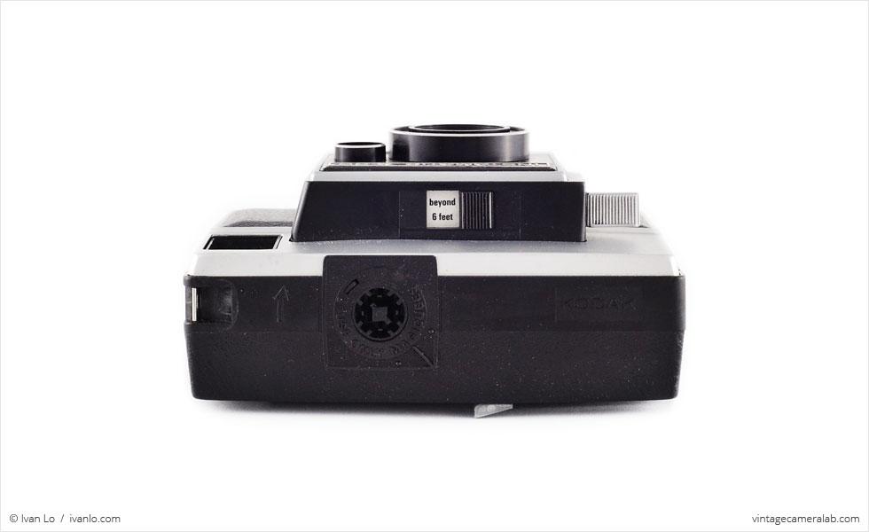 Kodak Instamatic X-35 (top view)