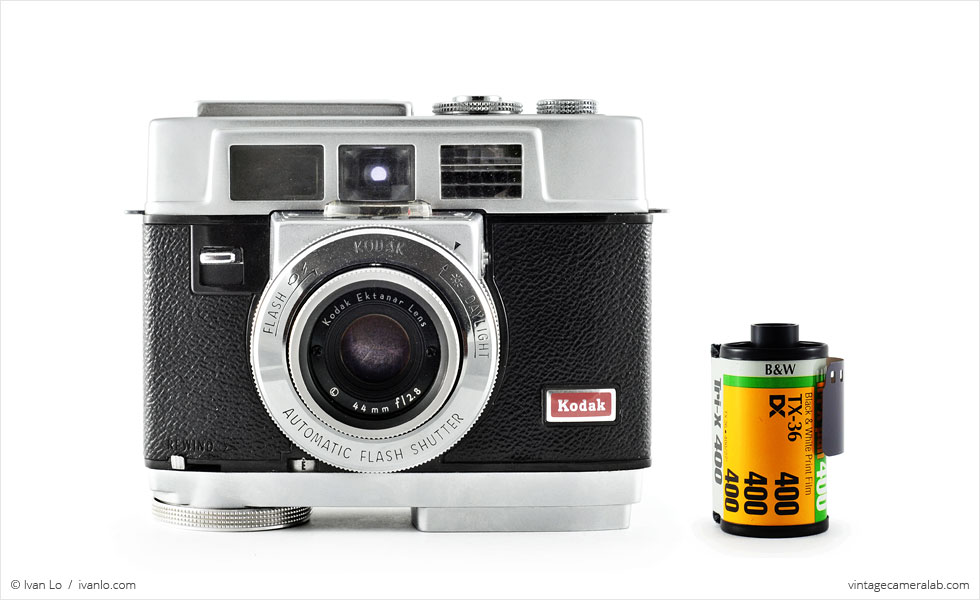 Kodak Motormatic 35F (with 35mm cassette for scale)
