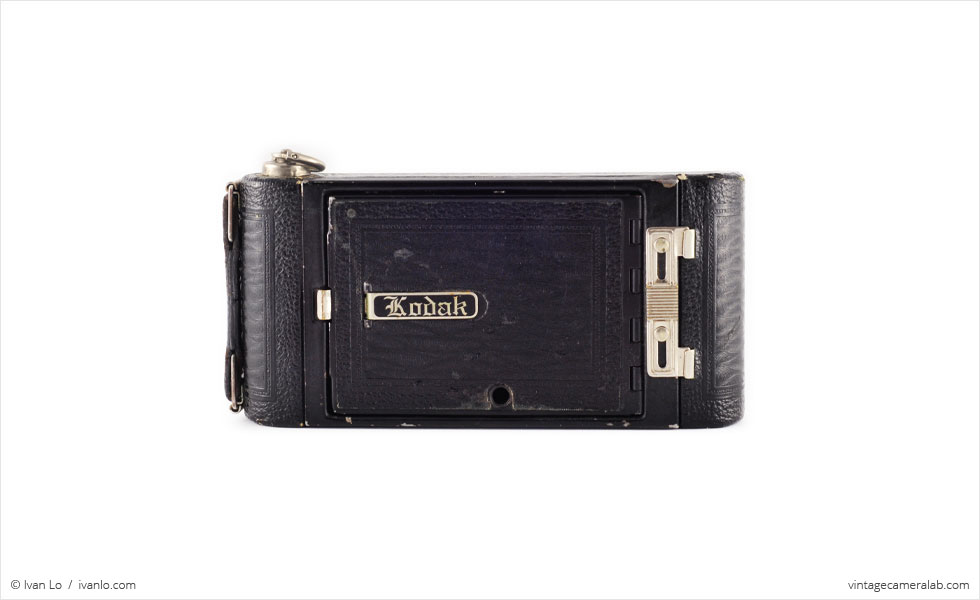 No.1 Pocket Kodak (front view, closed)