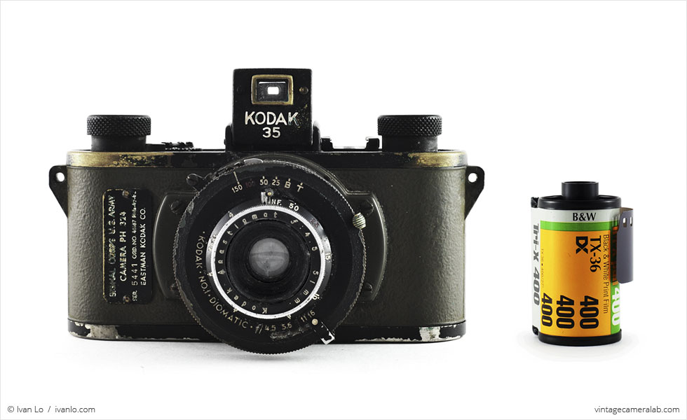 Kodak PH-324 (with 35mm cassette for scale)