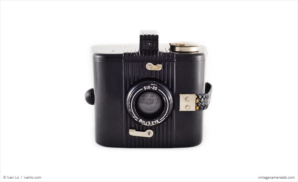 Kodak Six-20 Bull's Eye (front view)