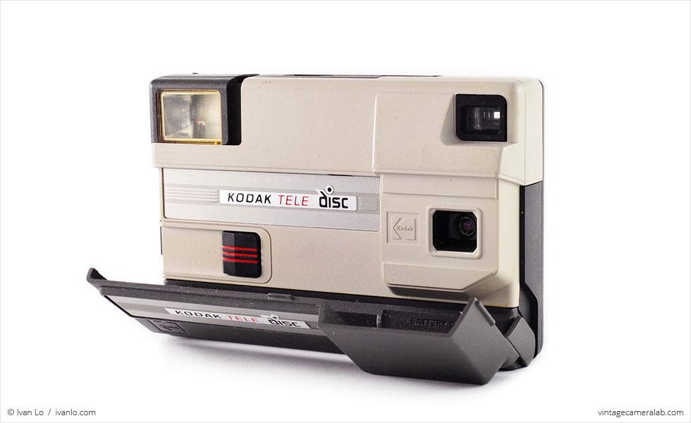 Kodak Tele Disc (three quarters, open)