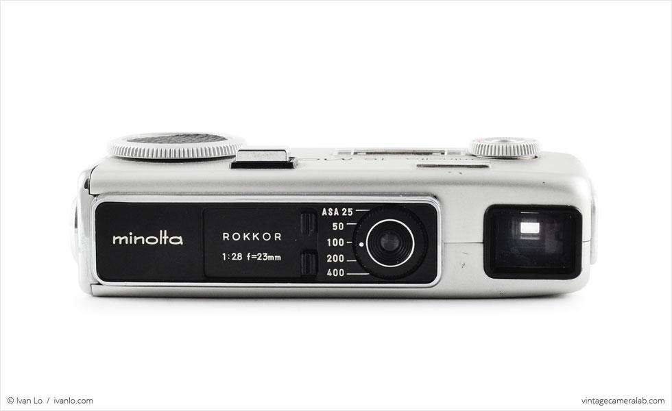 Minolta-16 MG-S (front view)