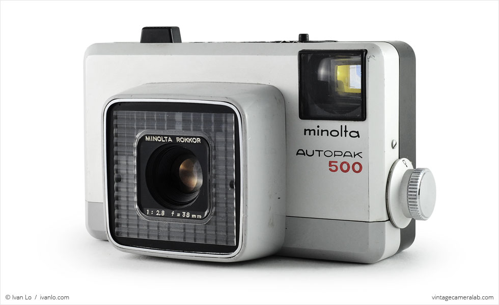 Minolta Autopak 500 (three quarters)