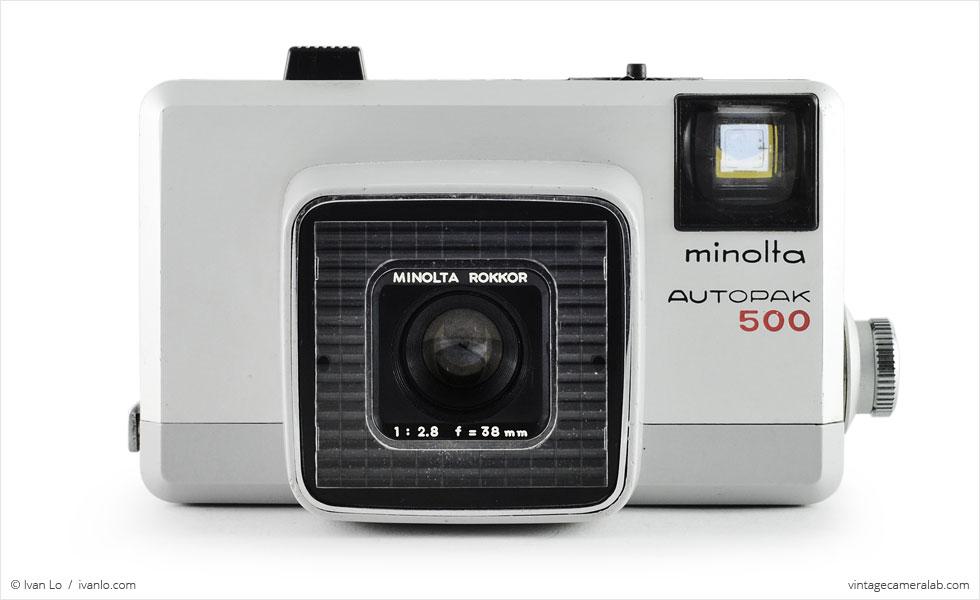 Minolta Autopak 500 (front view)