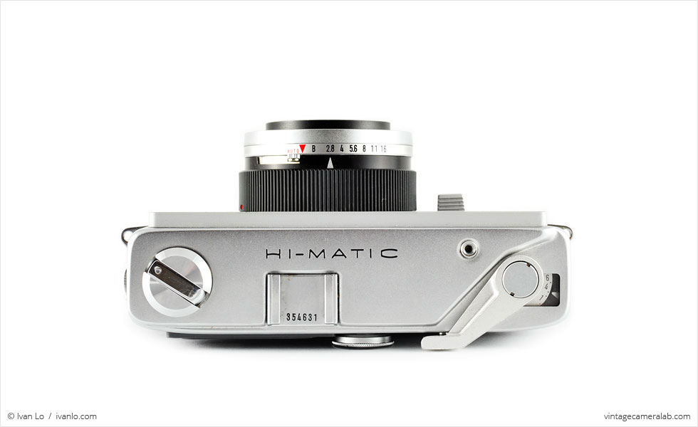 Minolta Hi-Matic (top view)