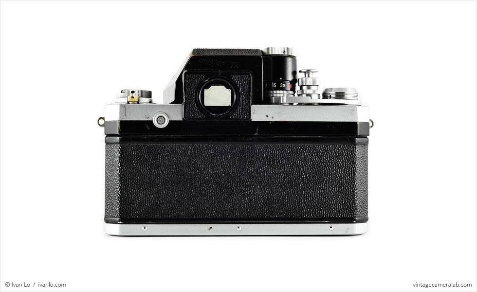 Nikon F (rear view)