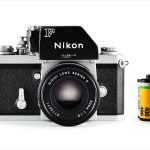 Nikon F (with 35mm cassette for scale)