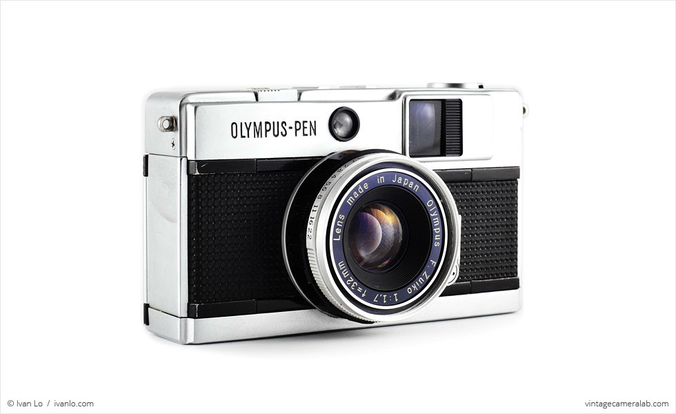 Olympus Pen EED (three quarters)