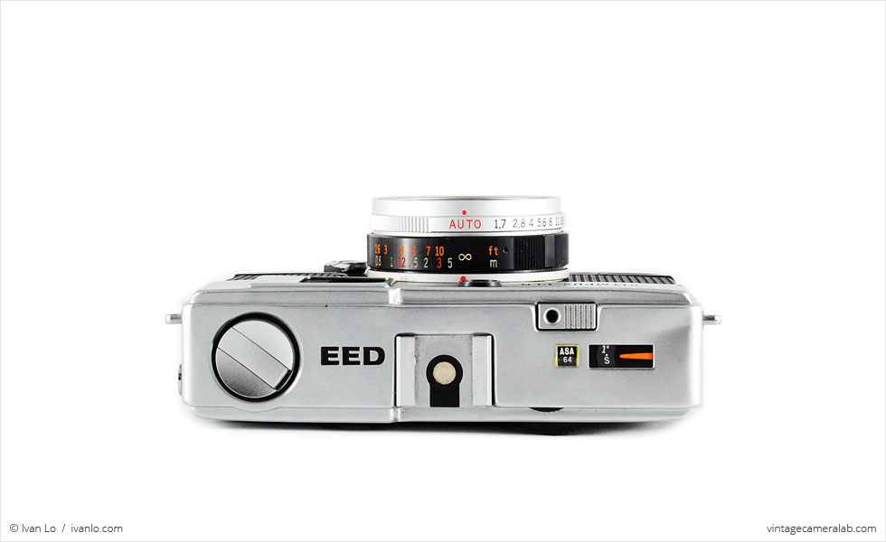 Olympus Pen EED (top view)