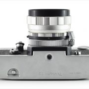Petri Flex 7 (bottom view, with Petri Automatic 55mm f/1.8}