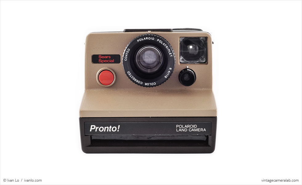 Polaroid Pronto! Sears Special (front view)