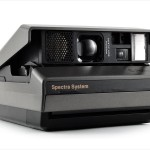 Polaroid Spectra (three quarters)