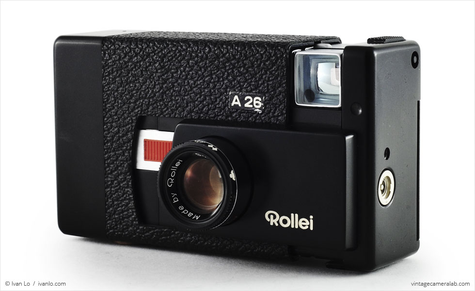 Rollei A26 (three quarters, open)