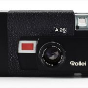 Rollei A26 (front view, open)