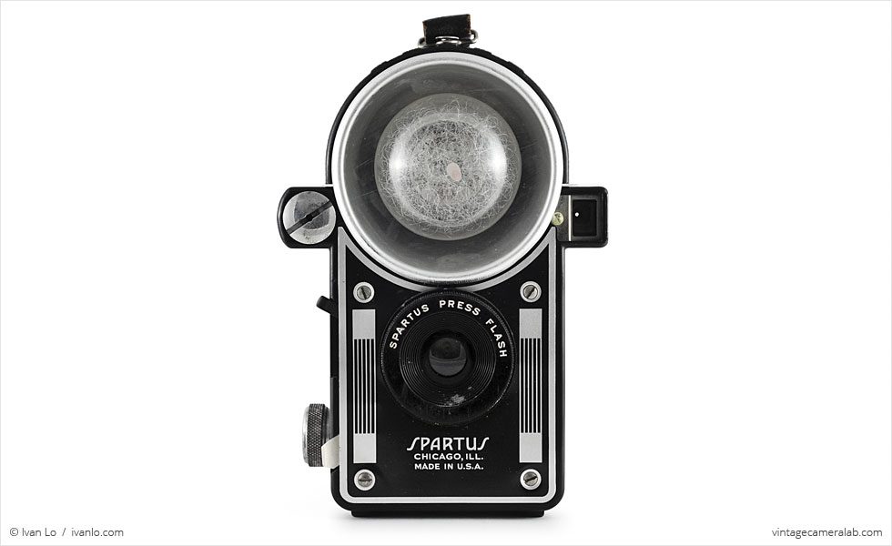Spartus Press Flash (front view)