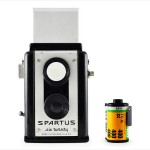 Spartus Six Twenty (with 35mm cassette for scale)