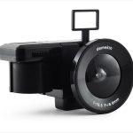PowerShovel Demekin Fisheye (three quarters, viewfinder up, with film)