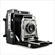 Read about the Graflex Crown Graphic camera on Vintage Camera Lab