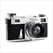 Read about the Kiev-4A camera on Vintage Camera Lab