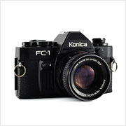 Read about the Konica FC-1 camera on Vintage Camera Lab