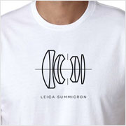 Buy a Leica Summicron Lens Diagram T-shirt on Vintage Camera Lab
