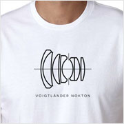 Buy a Voigtländer Nokton Lens Diagram T-shirt on Vintage Camera Lab
