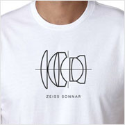 Buy a Zeiss Sonnar Lens Diagram T-shirt on Vintage Camera Lab