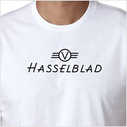 Buy a vintage Hasselblad logo T-shirt on Vintage Camera Lab