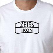 Buy a vintage Zeiss Ikon logo T-shirt on Vintage Camera Lab