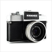 Read about the Nikon Nikkorex 35 II camera on Vintage Camera Lab