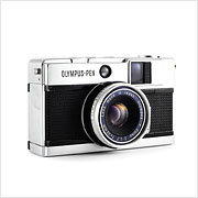 Read about the Olympus Pen EED camera on Vintage Camera Lab